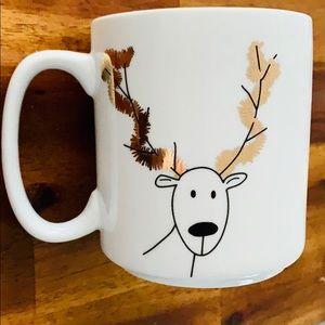 🎉HP!🎉NEW Reindeer Merry Christmas White Mug